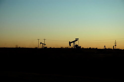 Oklahoma Sunset, Oil Well 2 | by Clinton Steeds