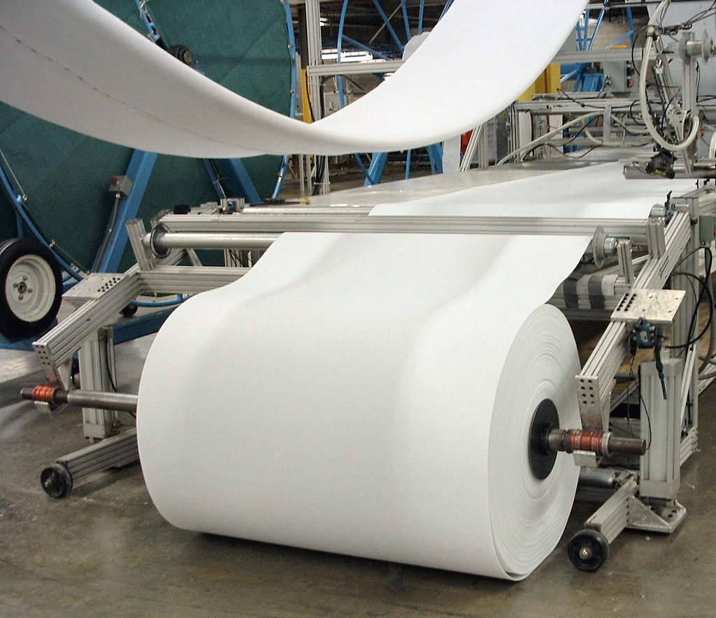 Image result for factory paper roll