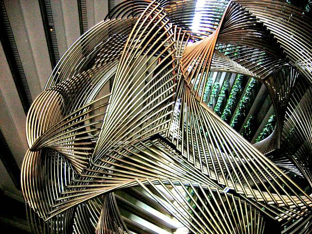 metal sculpture.   (Explore)