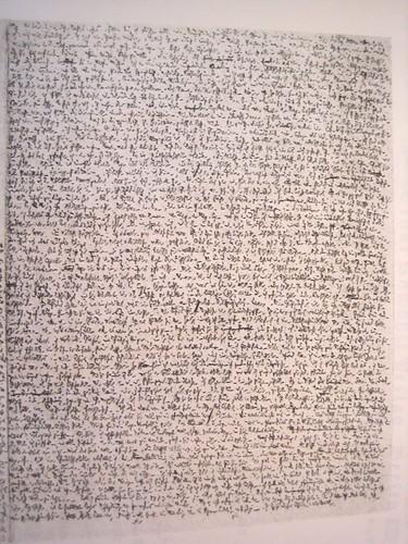 Robert Walser Microscript #1 | by Sam Jones