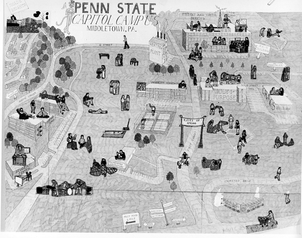 Proposed Campus Map, 1981 | File Name: CHA_S23_Proposed PSH ...