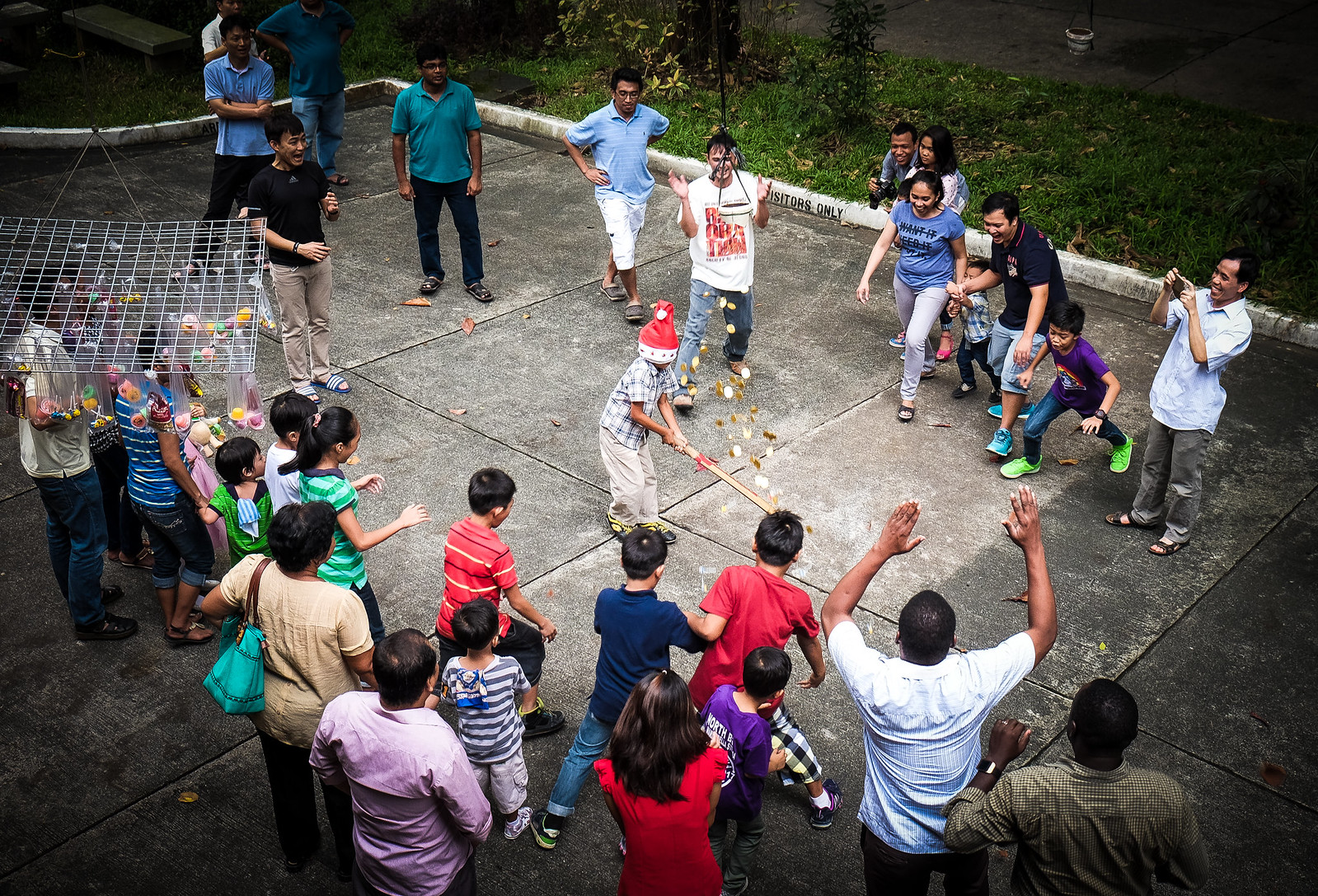 Pinata. Filipino Traditional Game