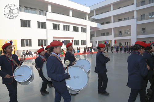 March Pass by Students of Sant Nirankari Public School