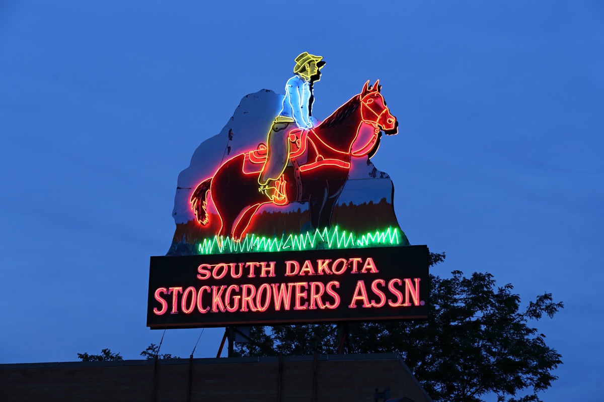 South Dakota Stockgrowers Association - 426 Saint Joseph Street, Rapid City, South Dakota U.S.A. - July 9, 2017