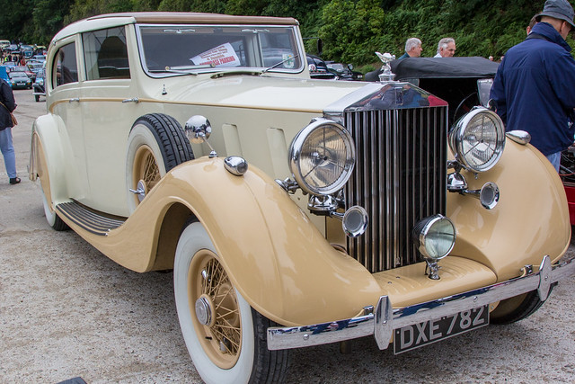 Brooklands BTM Classic Car Show and RetroJumble 2017 - 1936 Rolls-Royce Phantom III (DXE 782)