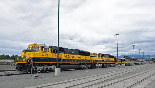trains railroads alaska railroad locomotive sd70mac emd denalistar anchorage