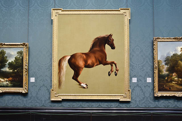 Whistlejacket, A Racehorse By Stubbs