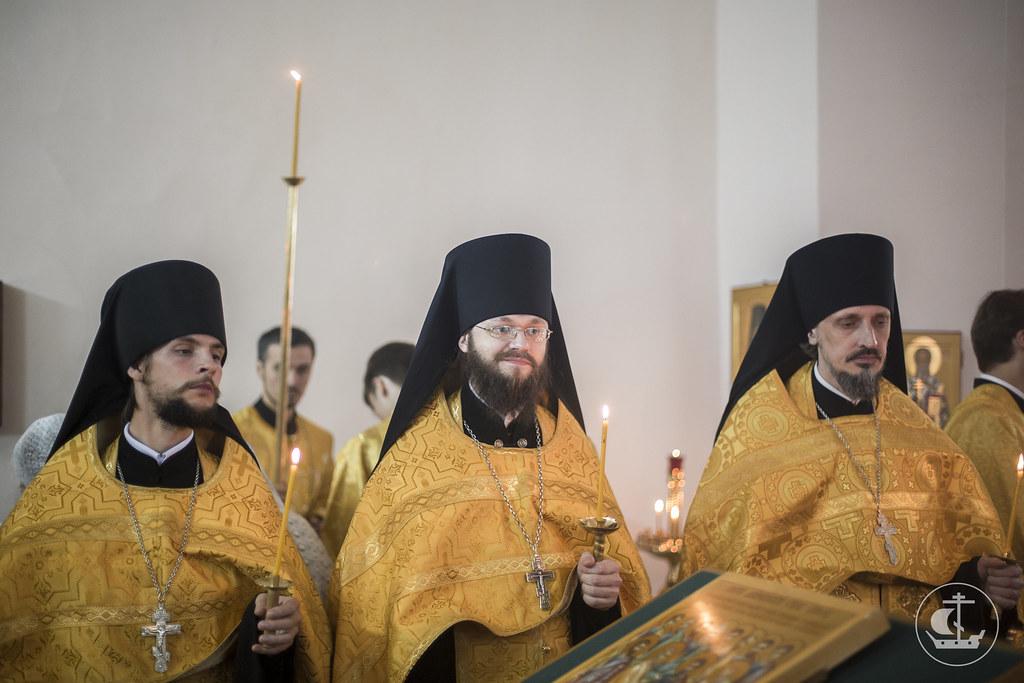 12 июля 2017, Всенощное бдение накануне дня памяти Двенадцати апостолов / 12 July 2017, The Vigil of the remembrance day of the Twelve Apostles