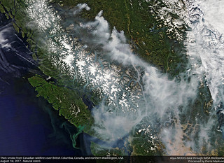 Smoke_Candian_wildfires_AQUA_MODIS_August_1_2017 | by Pierre Markuse