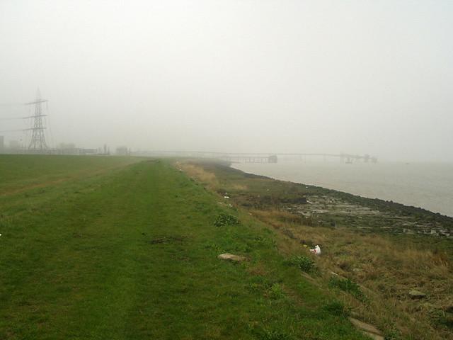 Marshes near Gravesend