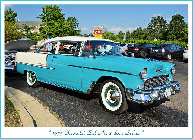 1955 Chevrolet Bel Air 2-Door Sedan