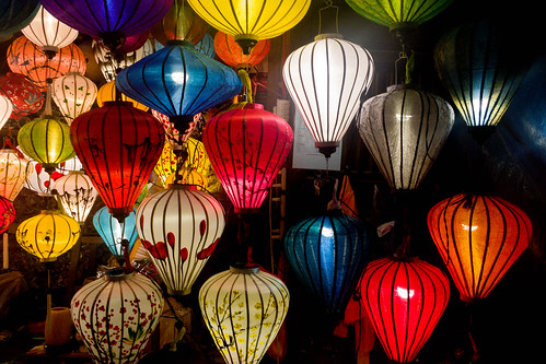 Lampions in Hoi An, Vietnam | by wuestenigel