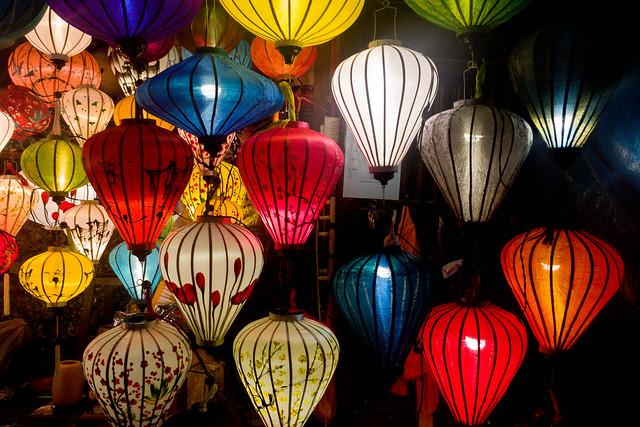 Lampions in Hoi An, Vietnam