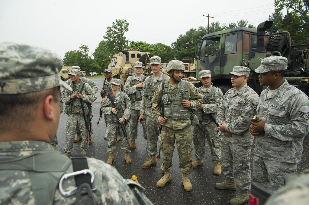 514th Porters train with Army National Guard Transportatio… | Flickr
