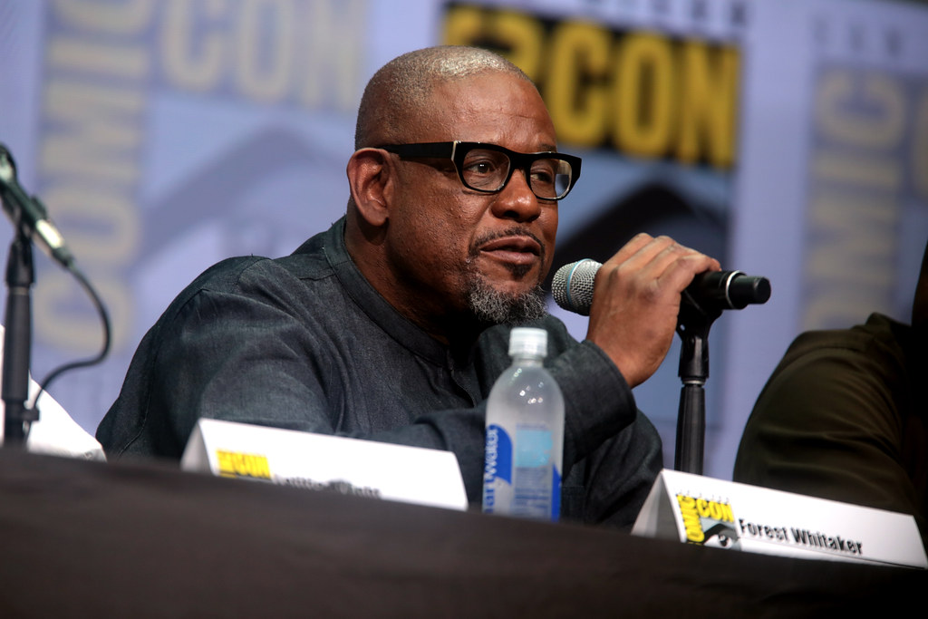 Forest Whitaker | Forest Whitaker speaking at the 2017 San D… | Flickr