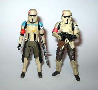 Star Wars Black Series Scarif Stormtrooper Squad Leader Action Figure