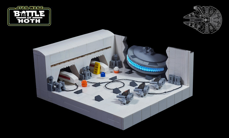 Echo Base (custom built Lego model)