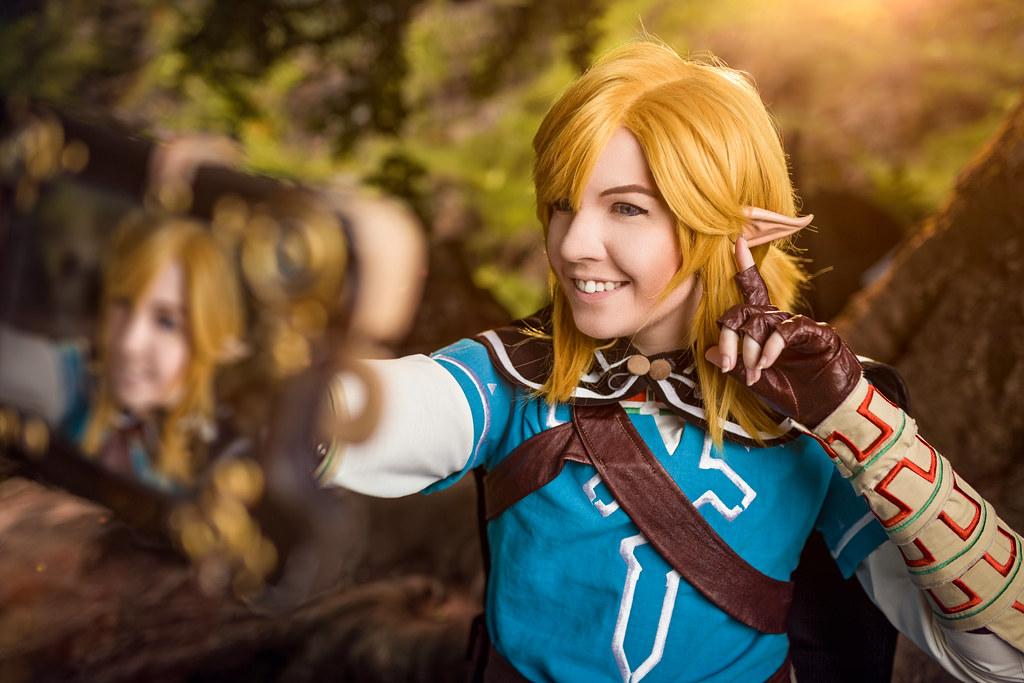 Link Link The Legend Of Zelda Breath Of The Wild Photogr