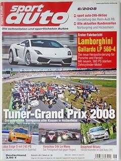 sport auto - 2008-06 - cover