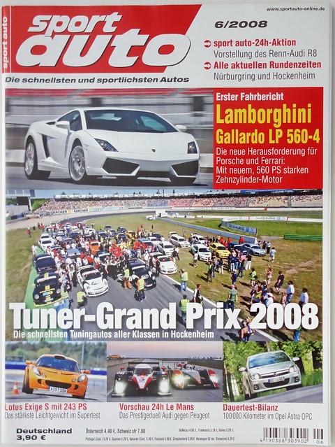 Image of sport auto 6/2008