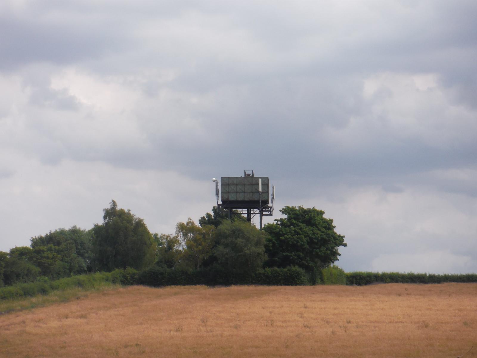 Pirton Water Tower SWC Walk 233 - Arlesey to Letchworth Garden City