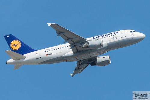 Lufthansa Airbus A319-114 D-AILL Marburg (718993 ...