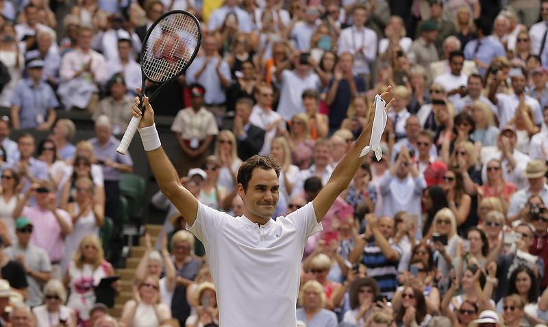 Roger Federer與Rafael Nadal將在男單準決賽正交鋒。(達志影像資料照)