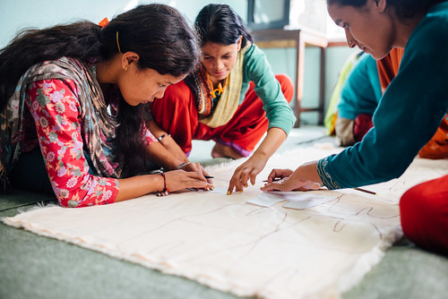 14 girls graduate from Nepal 'She Has Hope' rehabilitation home, 9 starting new tailoring businesses; new rescues arriving this month   by Peace Gospel