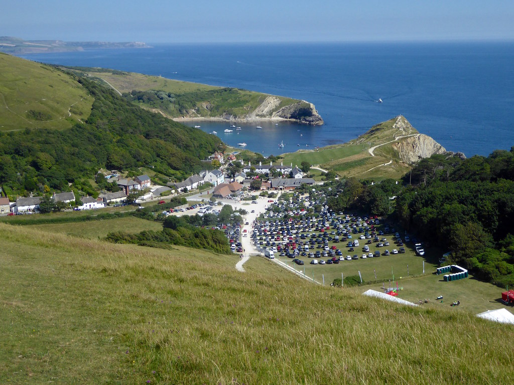 Lulworth from the ridge