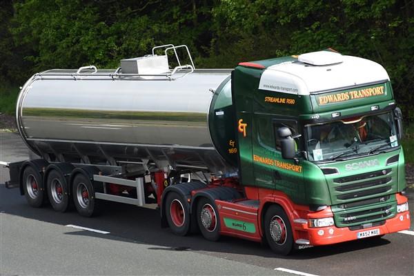 Edwards Transport Scania R580 Streamline Ma62 Mae Truckphotos