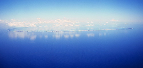 Atoll in the Tuamotu Archipelago of French Polynesia. | by Derek Keats
