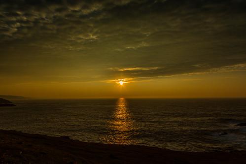 ngc coast coastal scotland sutherland atlantic sea sunset canon beautiful ocean clouds water greatphotographers