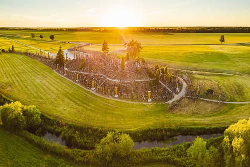 šiauliai lietuva lithuania kryžiųkalnas dronas 2017 europe djieurope drone aerial aerialphotography dji djimavicpro mavic pro mavicpro birdseye landscape djiglobal panorama