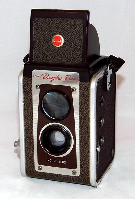 Vintage Kodak Duraflex IV Camera, Uses 620 Roll Film, Made In USA, Circa 1950 - 1954