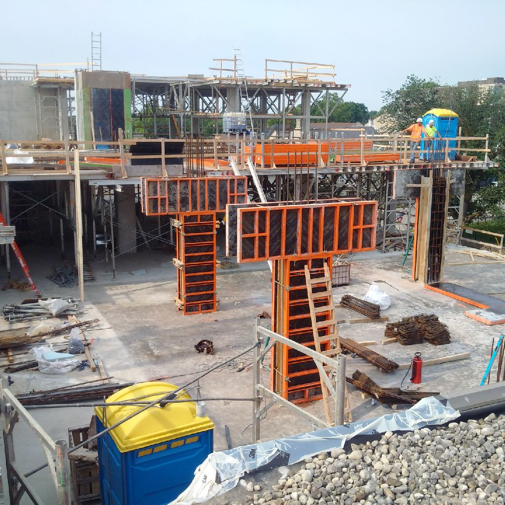 Concrete Slab Poured For Third Floor West Wing Addition R Flickr
