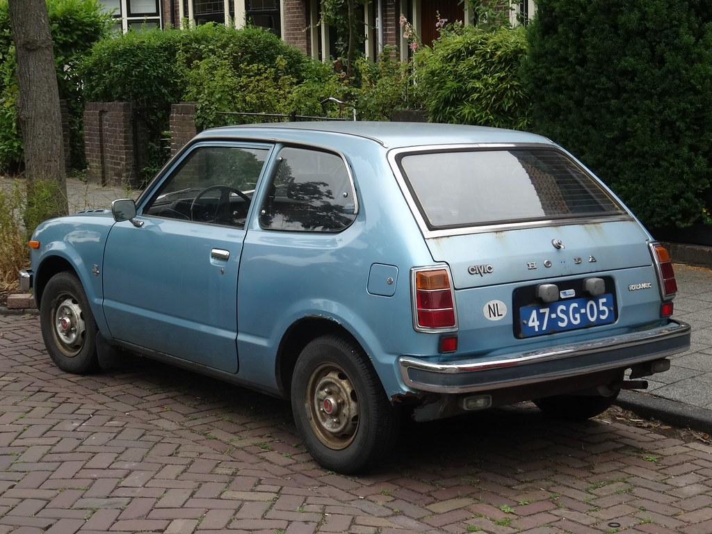 1977 Honda Civic   This is a Honda Civic from the first ...