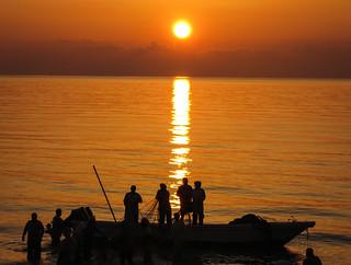 Sonnenuntergang  in Musandam