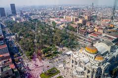 Alameda Central y Palacio de Bellas Artes
