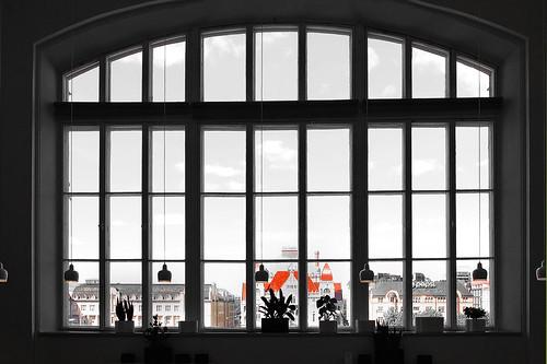 finnland helsinki museum window