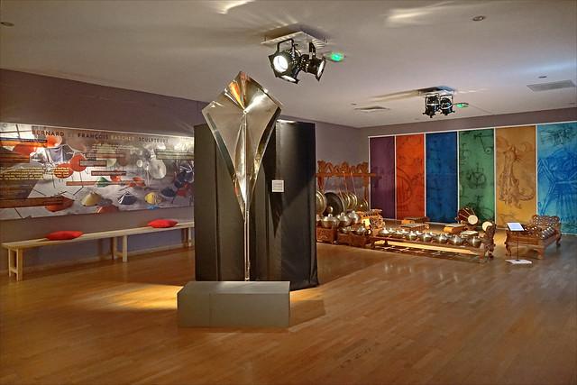 Le forum de l'exposition Supersonic (MùSIC, musée des instruments de Céret)