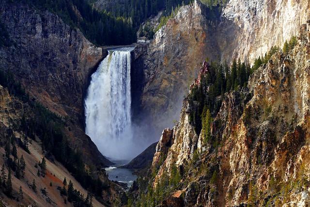 Artist Point Yellowstone NP