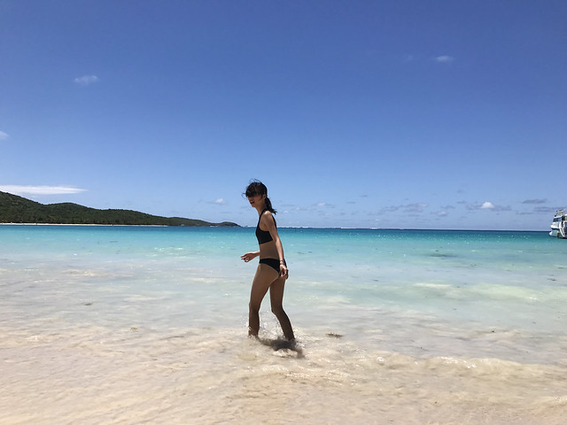 At Flamenco Beach