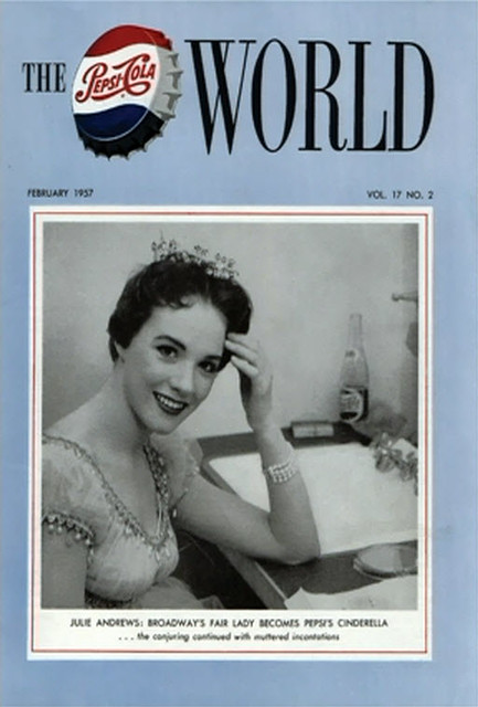 Julie Andrews, Pepsi-Cola World Magazine Cover for Rodgers & Hammerstein's