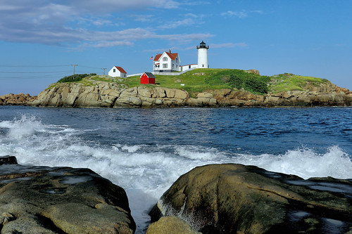 nubble light lighthouse york maine sohier park