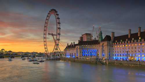 sunset london red dawn landmark sight river thames outdoor city urban travel ferrieswheel londonerriesenrad themse fluss dämmerung sonnenuntergang cityscape eye ferries wheel riesenrad