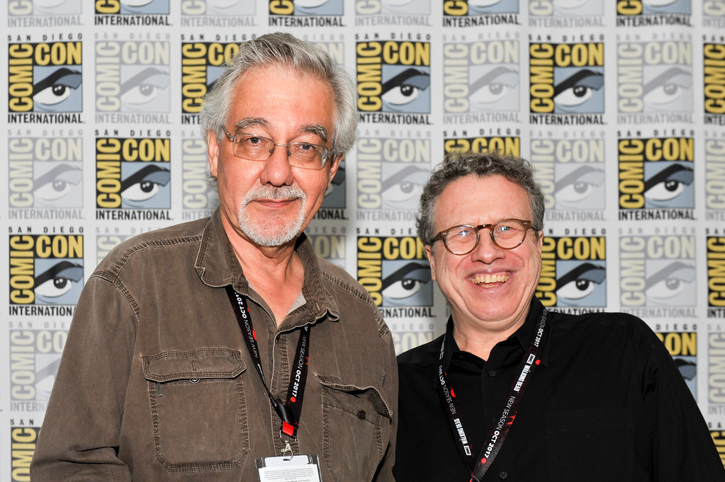 San Diego Comic Con 2017 Denis Kitchen And Danny Fingerot Flickr