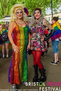 Bristol Pride Parade 2017
