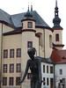 Litomyšl – jedna ze soch Olbrama Zoubka v Klášterních zahradách, foto: Petr Nejedlý