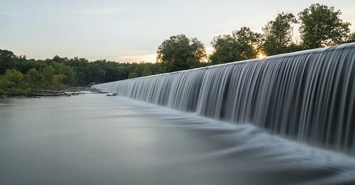 northcarolina unitedstates us bynum waterfall dam longexposure ndfilter canon eos canoneos6d sigma sigmaart sigma24105mm sigma24105mmf4dgoshsmart chathamcounty hawriver