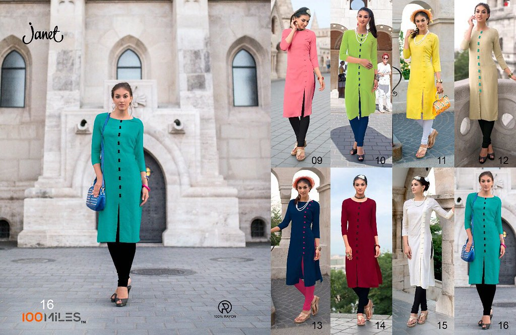 9f1fb6239a ... krishnacreation1 100 MILES JANET VOL 2 DESIGNER RAYON PLANE KURTIS  CATALOGUE WHOLESALE SUPPLIER | by krishnacreation1